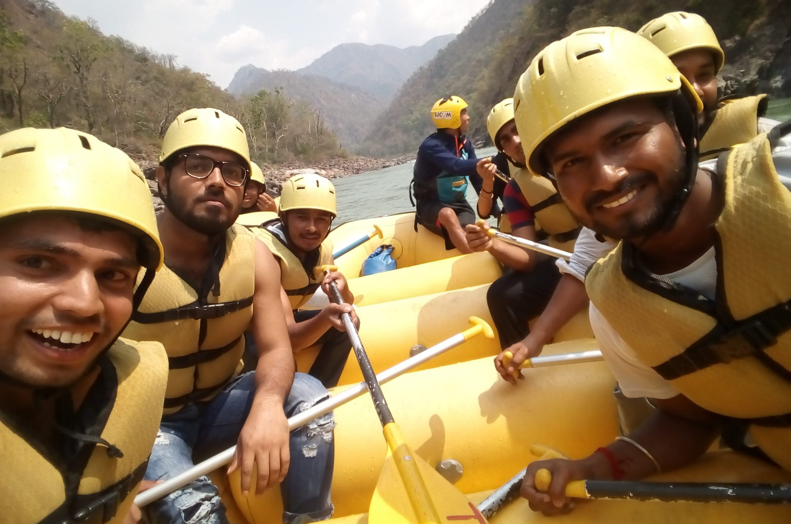 Rishikesh – Let the cool water touch you – River Rafting | Pradeep Shah